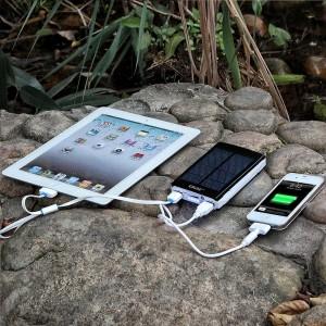 Smartphone Solarladegerät