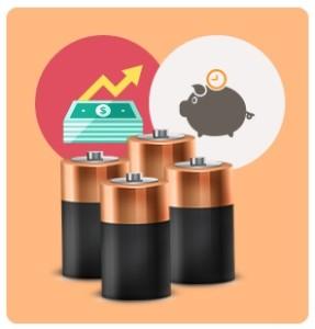Batteriegehäuse - laufende Kosten