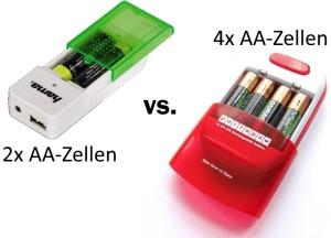 Batteriegehäuse - verschiedene Größen